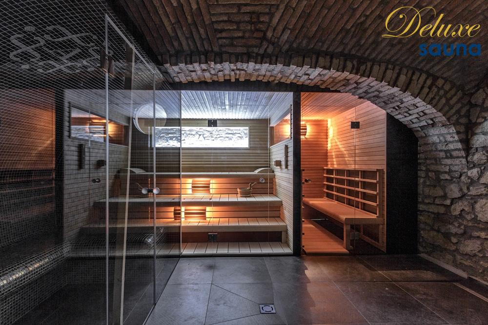 Deluxe sauna 10
