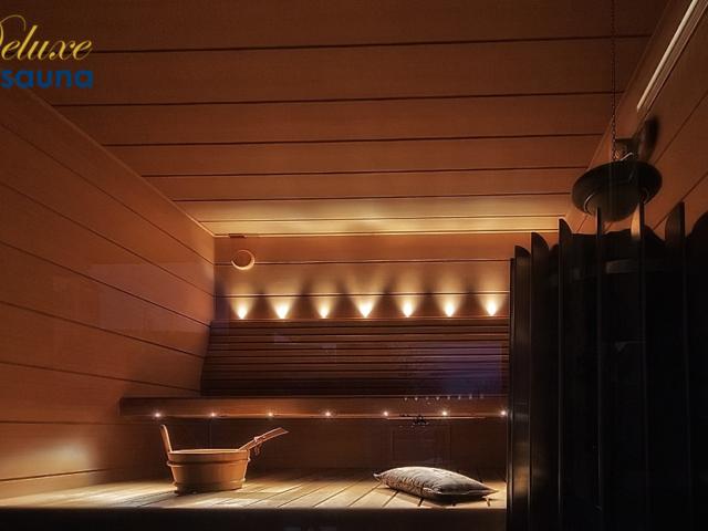 Deluxe sauna 18