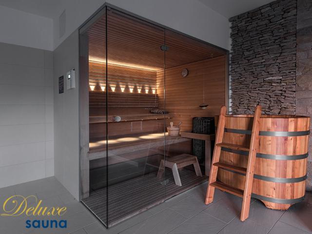 Deluxe sauna 20