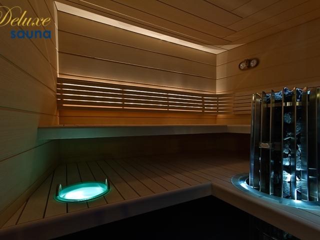 Deluxe sauna 4
