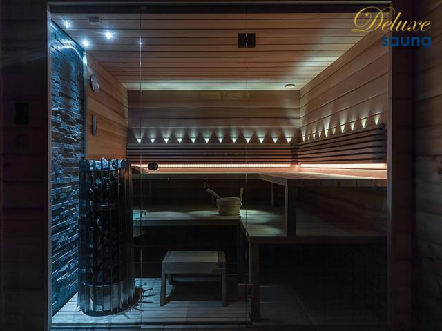 Deluxe sauna 5