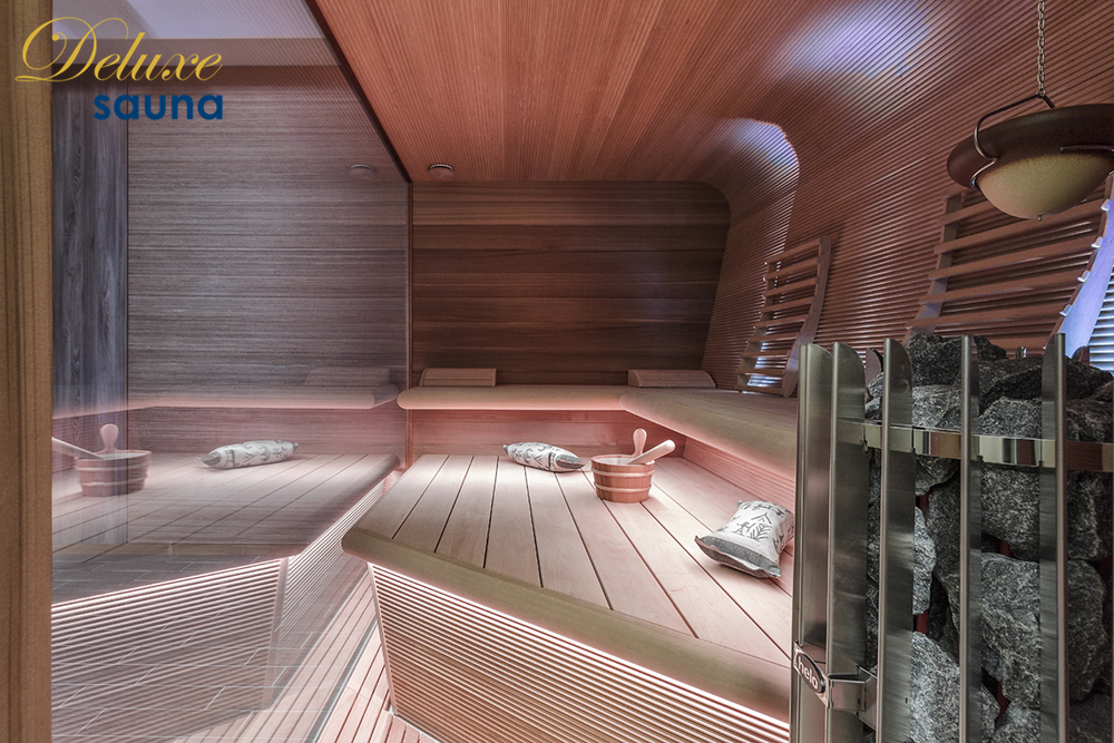 Deluxe sauna 6