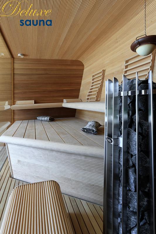 Deluxe sauna 7