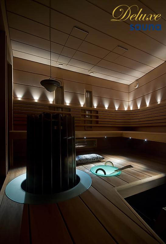 Deluxe sauna 8