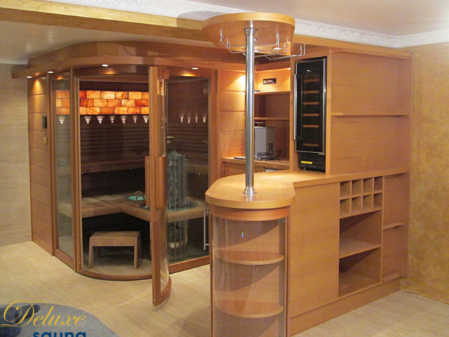 Deluxe sauna 9