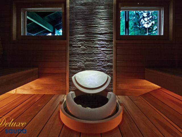Deluxe sauna 16