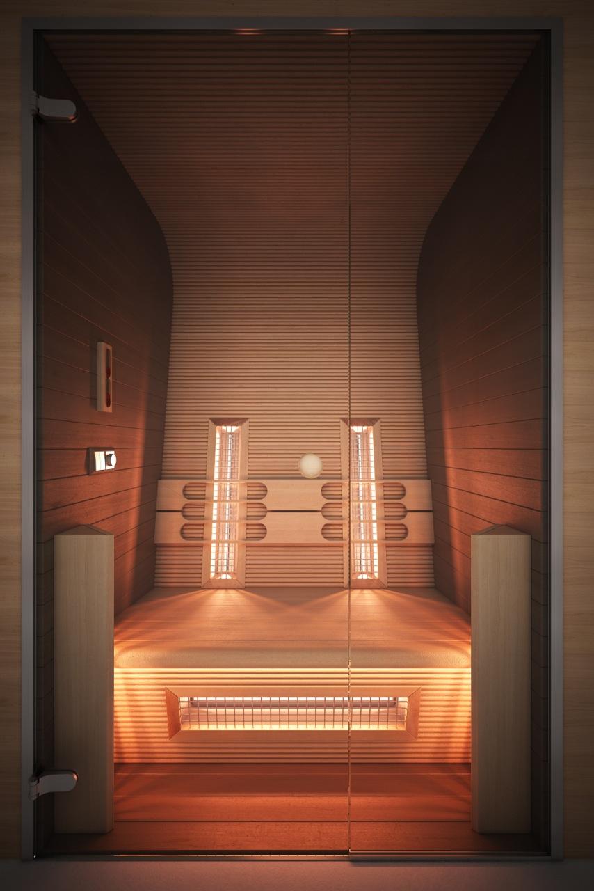 Infa sauna DELUXE SAUNA