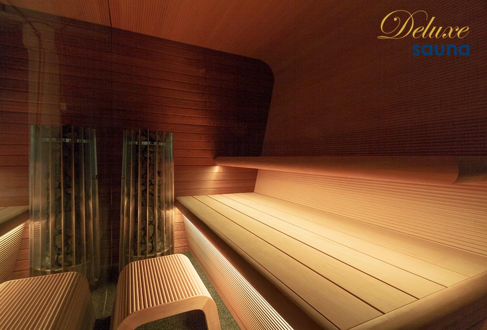 Deluxe sauna - Luxury Edition - exkluzívne sauny