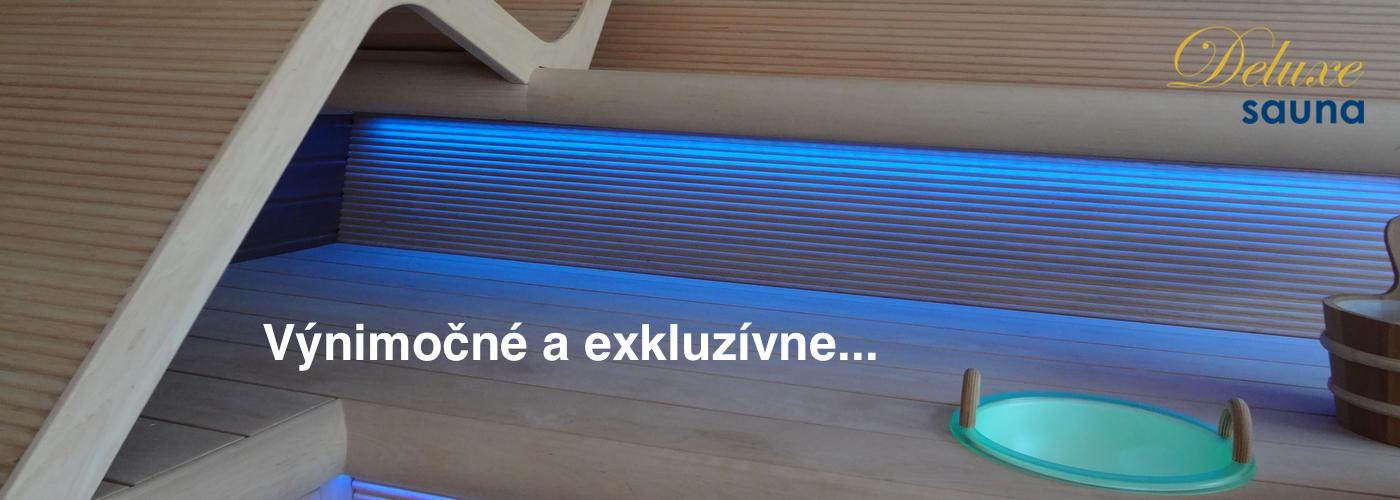 Deluxe sauna - exkluzívne sauny