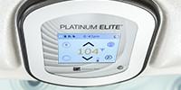 ovládací panel Platinum elite Touch