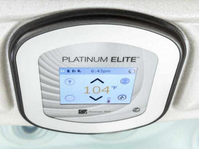 ovládací panel vírivky Artesian Spa Platinum Elite